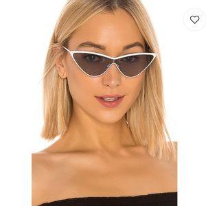 My My My Zyon in White & Black Sunglasses